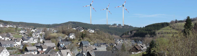 Windrad-Nuhnetal